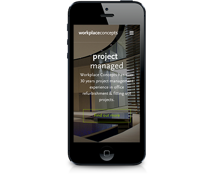 Screenshot of Workplace Concepts